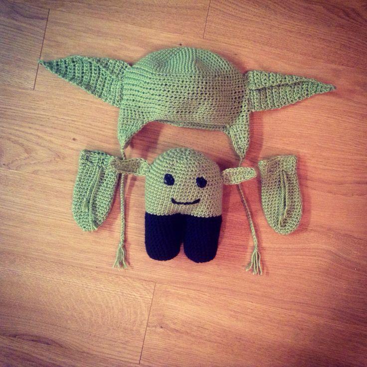 Mr. Yoda baby crochet