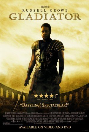 Gladiator Movie Poster 27x40 (2000) Used Russell Crowe, David Bailie, James Fiddy, Spencer Treat Clark, Djimon Hounsou, Tomas Arana, Norman Campbell Rees, Michael Sheen, Tommy Flanagan, Joaquin Phoenix, Connie Nielsen, Sven-Ole Thorsen, Paul Sacks