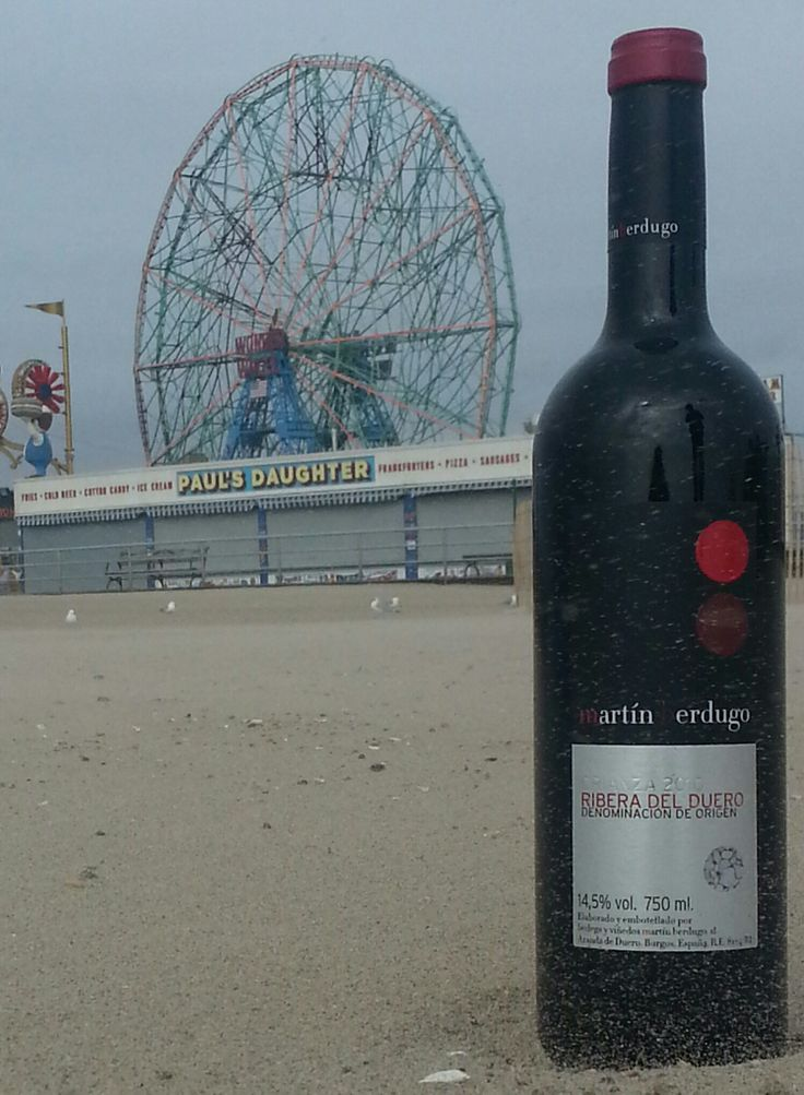 Martin Berdugo from the Ribera del Duero arrives in Coney Island!