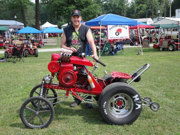 Custom Garden Tractor Wheels : Best images about custom lawn mowers on pinterest