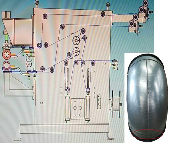 Circular duct welding machine