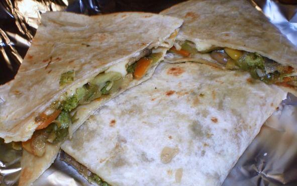 Applebee's Low-Fat Veggie Quesadilla