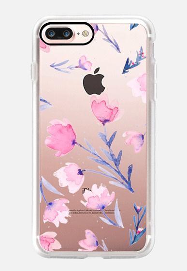 Soft floral iPhone 7 Plus Case by Olga Komasinska | Casetify