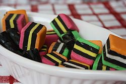 Invented by accident - Liquorice allsorts