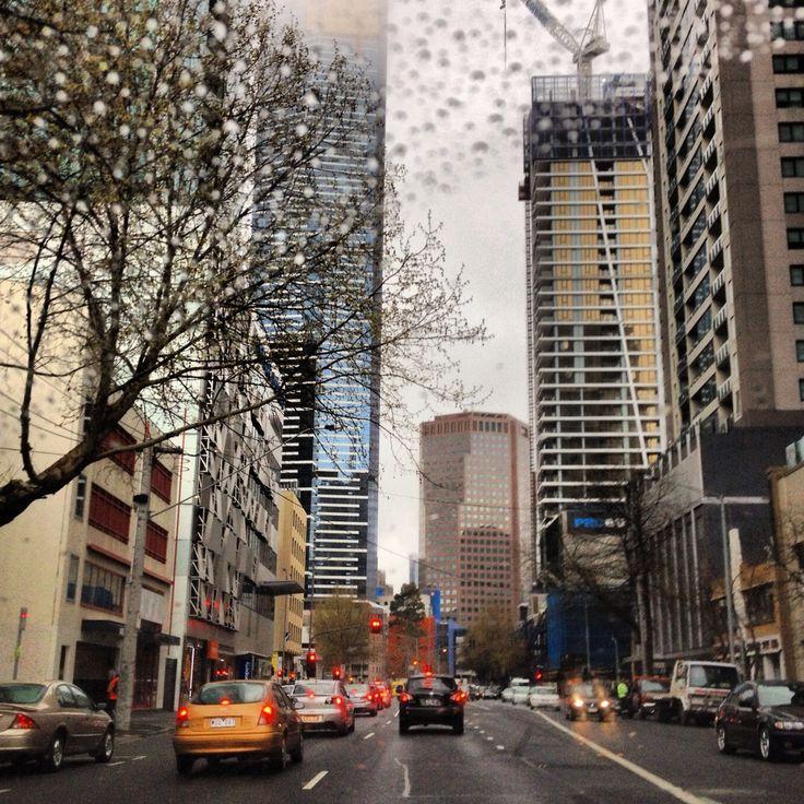 Melbourne City Skyscrapers