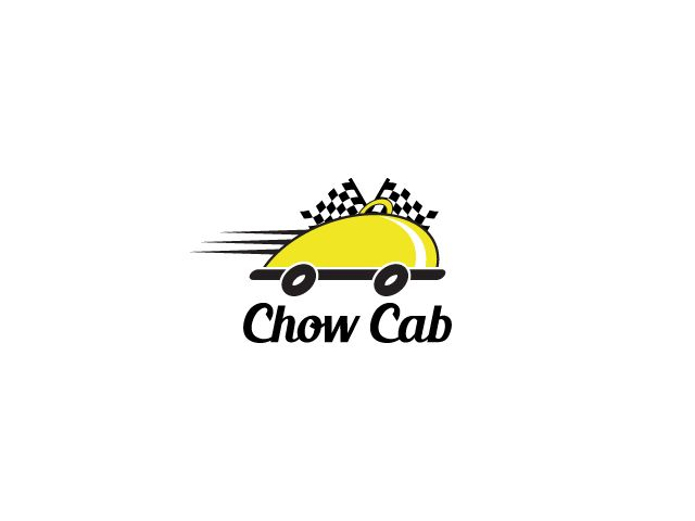 Design Logo for a Restaurant Delivery Service called Chow Cab by Captainzz