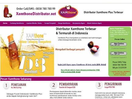 pusat distributor xamthone plus no #1 di indonesia. Penjual xamthone online terbesar, barang resmi dan asli >> xamthone or xamthone plus --> www.xamthonedistributor.net