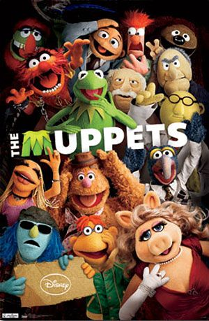 This poster also hangs in my bedroom. Still not sure how I feel about this movie, but I love the Muppets!
