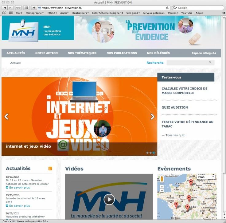 Site Prévention MNH