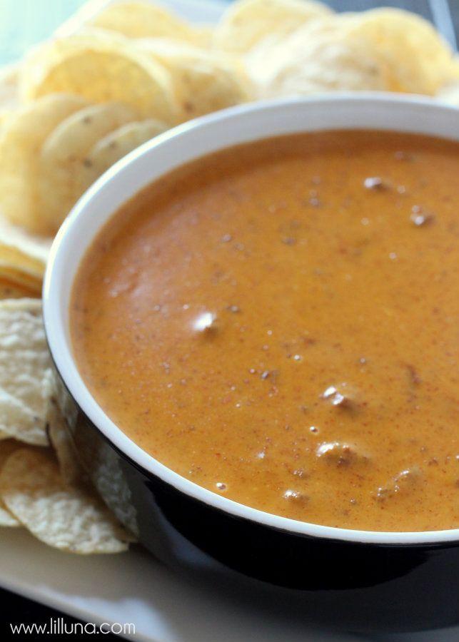 Chili's Copycat Skillet Queso Recipe