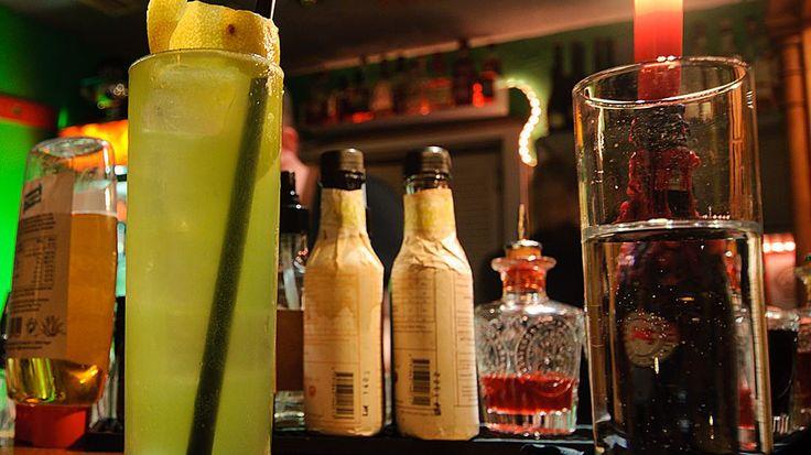 Cocktails im Schwarzen Schaf in Bamberg.