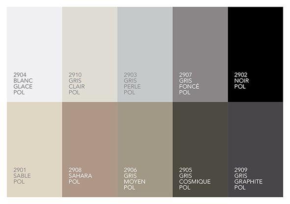 Kolorystyka kolekcji Polaris
