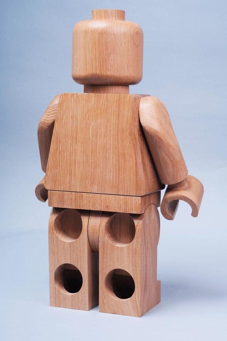 De superbes minifigs LEGO en bois