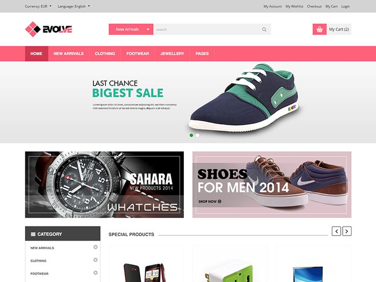 Best ECommerce Templates Images On Pinterest Check E Commerce - Ecommerce template