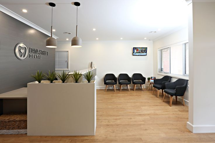 Dental reception waiting