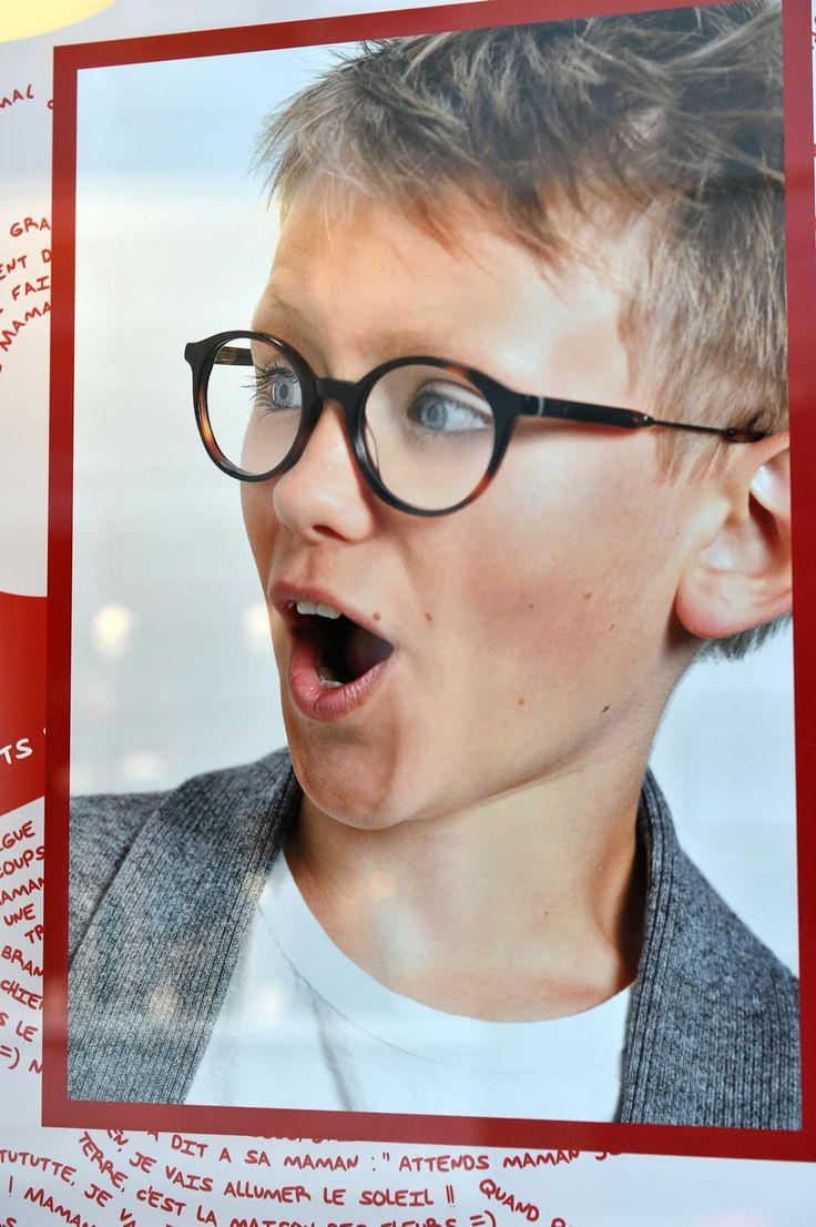 Programme de Théâtralisation vitrines mensuel pour opticiens indépendants (Agence 100% pour LUZ optique) #windows #opticiens #opticien #optique #optic #vitrines #communication #design #enfants #kids