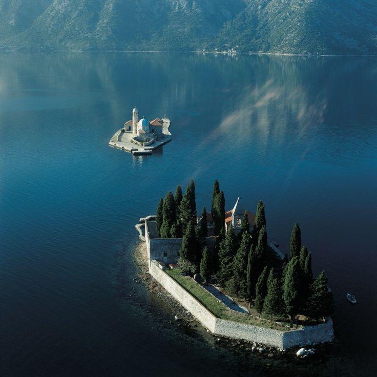 Boka Kotorska (Bay of Kotor), Montenegro - Western Balkans Geotourism Mapguide