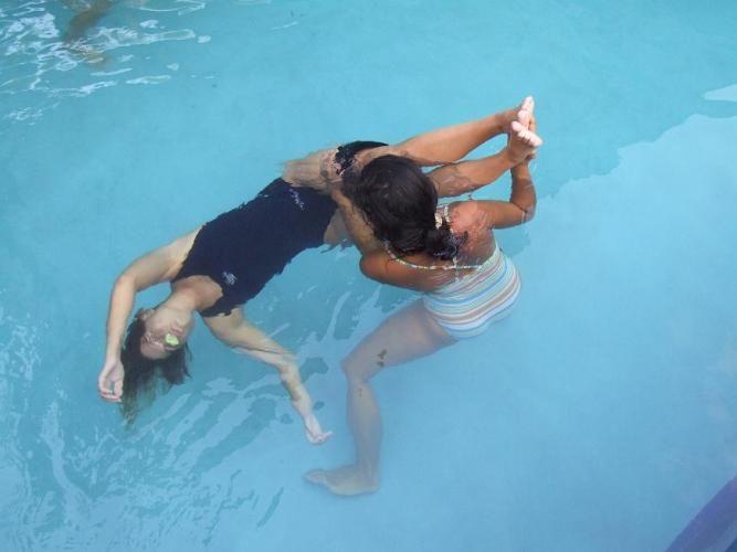 WasserTanzen Rückensurfen