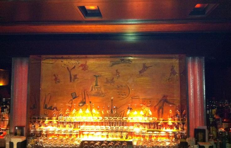 17 best images about bar on pinterest restaurant new for Bemelmans bar mural