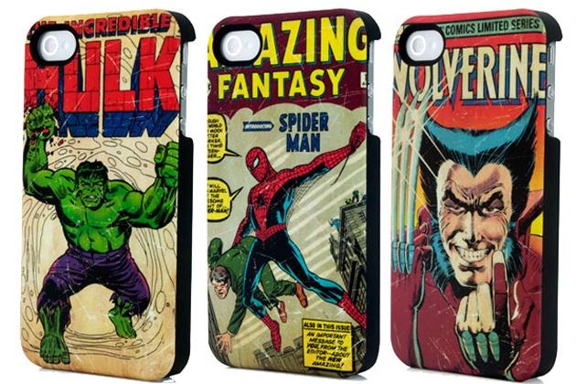 Fundas Marvelosas para iphone comic marvel hulk spiderman wolverine  Repineando