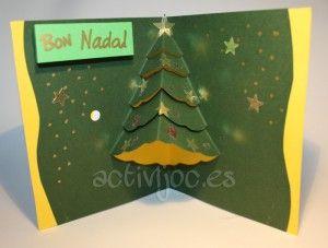 Postals de Nadal en 3D