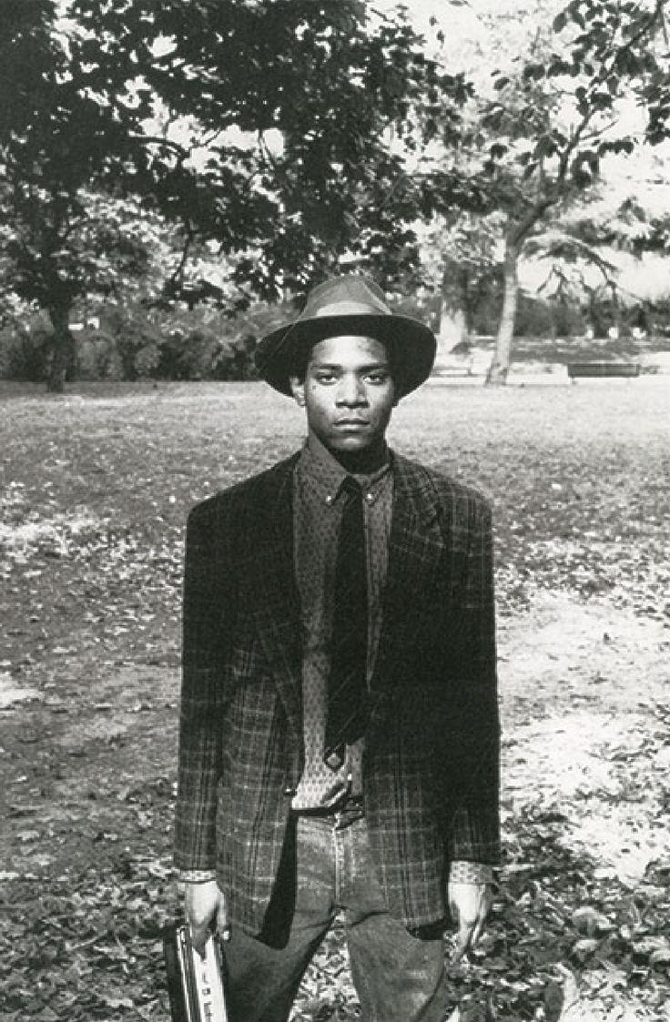 Жан-Мишель Баския #Basquiat в Милане, парк Giardini Pubblici di Porta Venezia / 1983