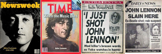 "The death of John Lennon in December, 1980 at the hands of a madman was shocking and terribly sad. Lennon had just released the album ""Double Fantasy"" and never really got to enjoy its success and this event put an end to any hope of the Beatles reuniting again."