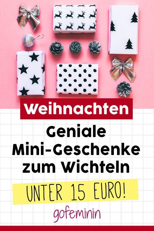 Unter 15 Euro: Kleine Geschenke für den Adventskalender und zum Wichteln