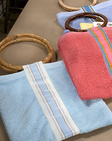 Hand-Towel Beach Bag -Perfect for summer!
