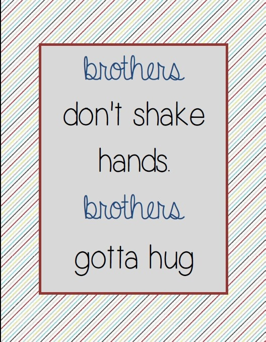 Found it!! What we need for our playroom! Tommy Boy Quote Printable