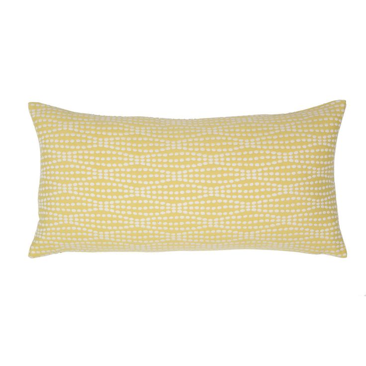 Sofa Cover The Yellow Dots Throw Pillow