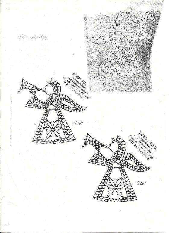 Kuvahaun tulos haulle bobbin lace Natal / Christmas