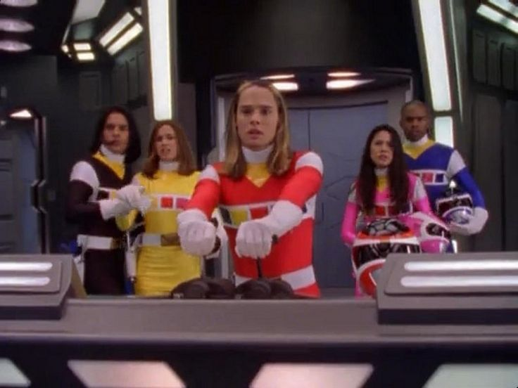 Power Rangers In Space   by Guardian Screen Images
