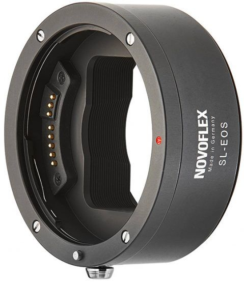 Novoflex-Canon-EF-lenses-adapter-for-Leica-SL-mirrorless-camera-2
