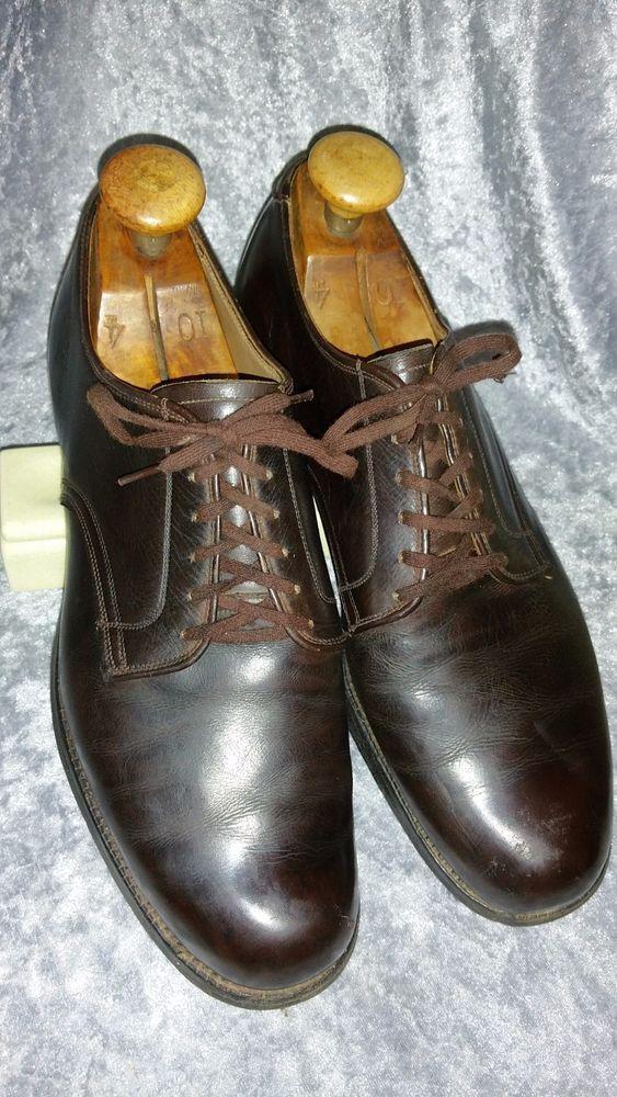 WWII WW2 KOREAN War 1952 dated US Army 9.5 E USMC VTG mens shoes
