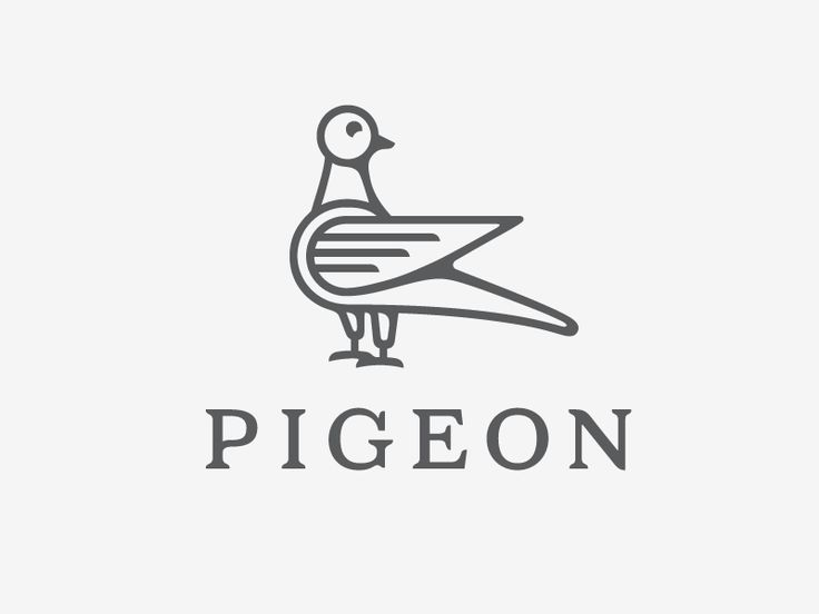 Pigeon Logo by Sergey Grigoryan