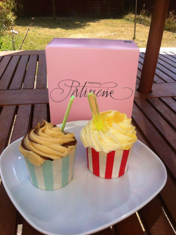 Waitrose Cupcakes Lemon Drizzle & Caramel Dream