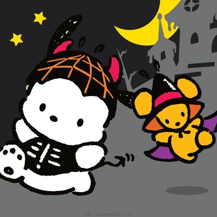 Pochacco (^ω^)Happy Halloween