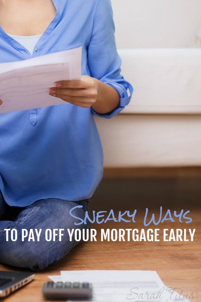 It may be a daunting task to open your mortgage bill every month; like it's mocking you. It doesn't have to! Here are some sneaky ways to pay off your mortgage early...tips straight from a former loan officer!
