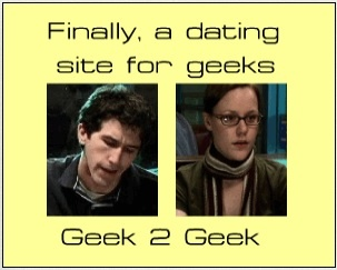 Dating for geeks and nerds