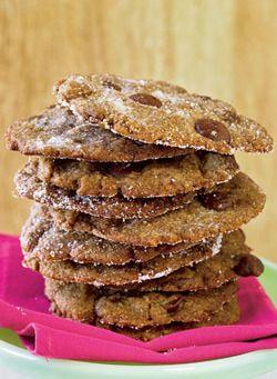 Vegan Recipes From Chef Chloe Coscarelli : Cinnamon-Espresso Chocolate Chip Cookies