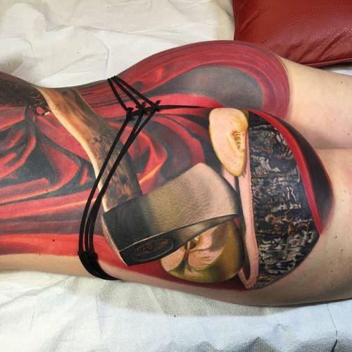 Megan Jean Morris Tattoo by Nikko Hurtado | Megan jean ...