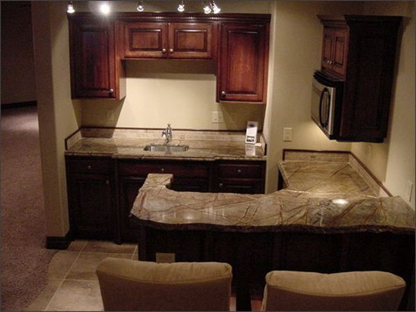 Wet Bar Cabinets : Wet Bar Cabinets Marble