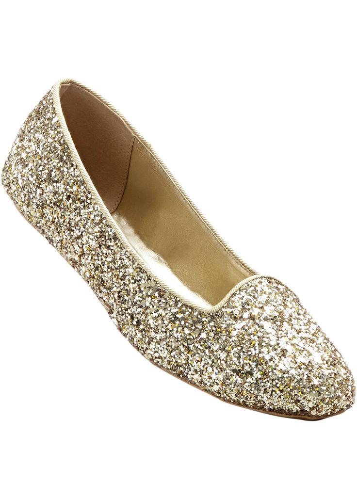 Ballerina gold glitter - bpc bonprix collection jetzt im Online Shop von bonprix.de ab ? 14,99 bestellen. Schick und angesagt.