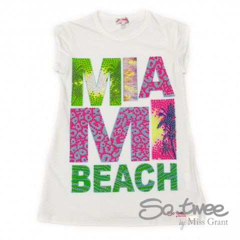 SO TWEE by #missgrant MAXI T-SHIRT MIAMI. Sale 50% off Spring&Summer Collection! #discount