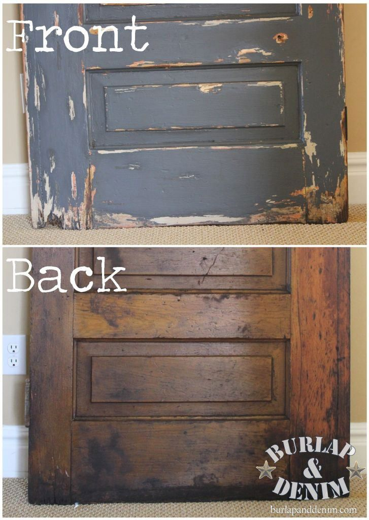 Use Brixwax stain productg to give a golden aged glow to old wood. Antique  PaintHow ... - Best 25+ Distressed Doors Ideas On Pinterest Electric Fuse Box