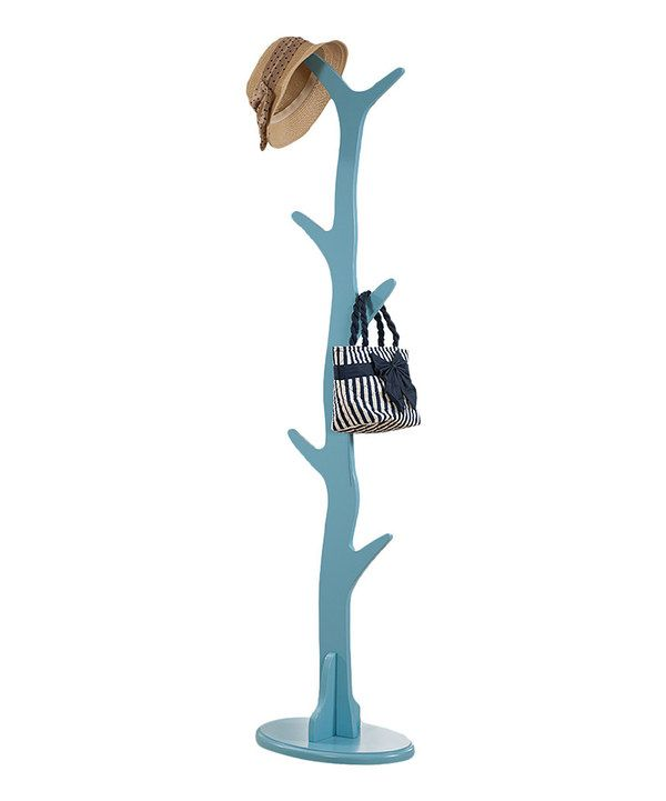 Look at this Turquoise Wood Coat Rack on #zulily today!