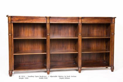 Office Bookcase 3 Section http://www.countryinteriors.com.au/product/office-bookcase/
