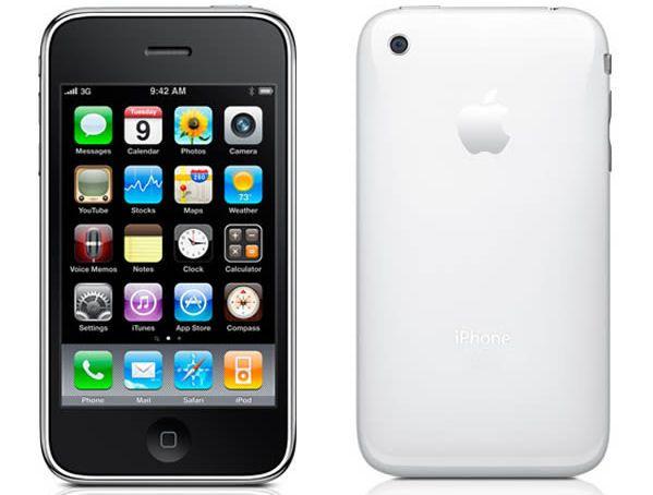 iPhone 3GS 32GB.  My first iPhone, still my favorite design.