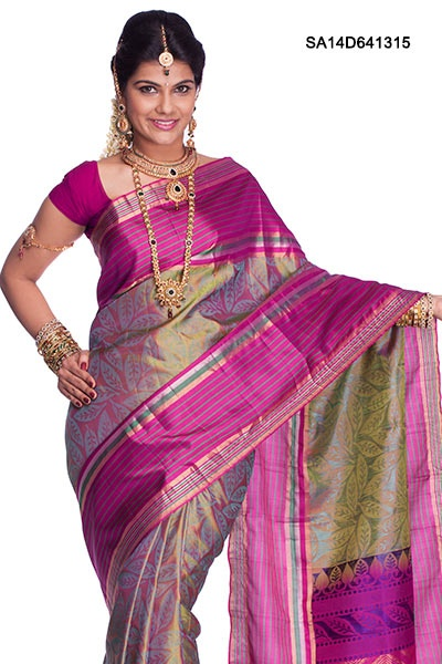 $225.00 Exotic Kancheepuram Silk Saree
